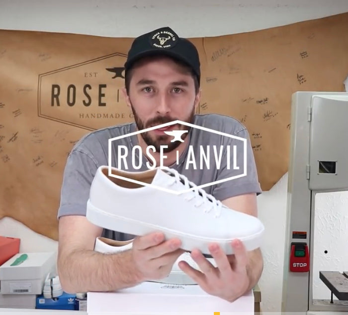 ROSE ANVIL CUTS THE OVERSTONE DERBY SNEAKER IN HALF - SEE THE REVIEW