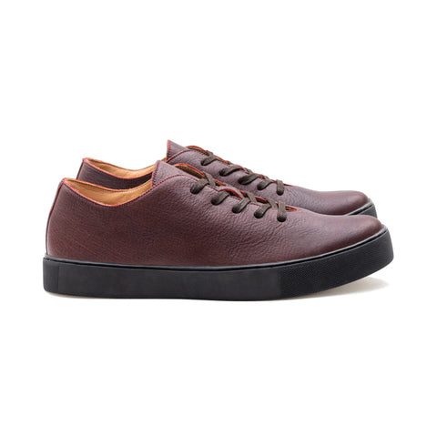 UPTON TL SIGN KUDU LEATHER SNEAKER