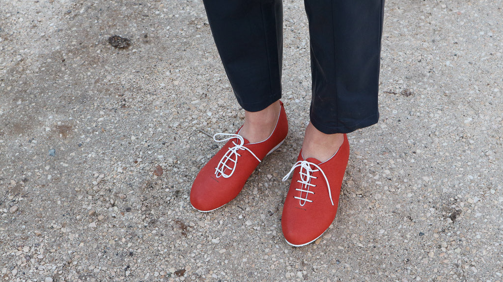 Wholecut Regent Red Shoe