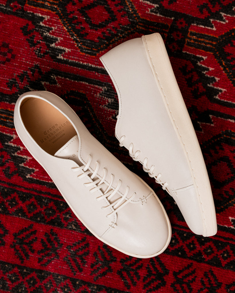 crown northampton hand stitch sneaker collection off white calf
