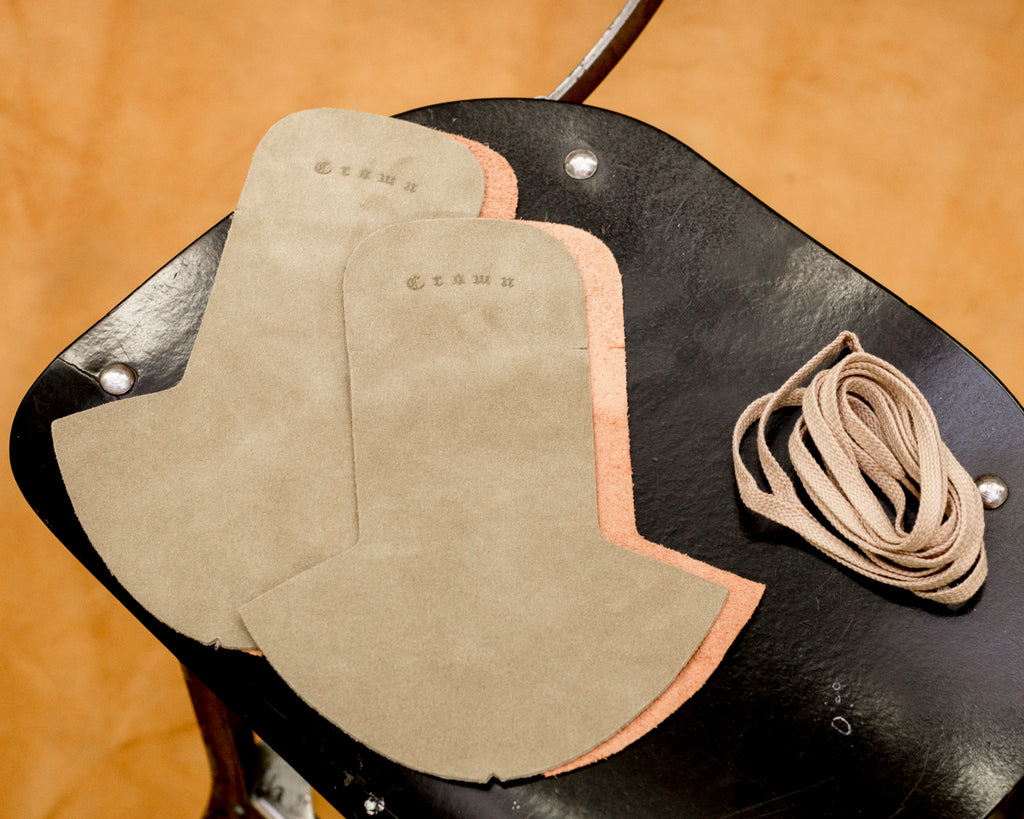 Crown Northampton shoe insole leathers