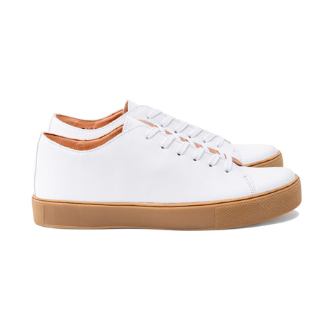 OVERSTONE TL WHITE LEATHER SNEAKER
