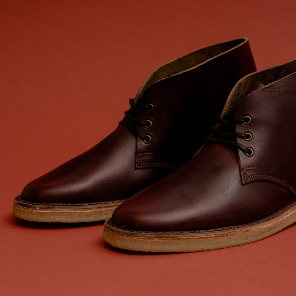 crown Northampton woodford desert boot horween chromexcel no 8