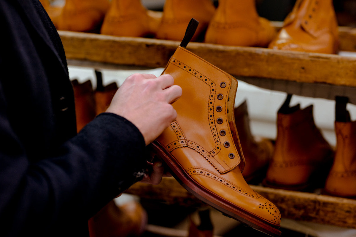 Trickers shoe factory in Northampton