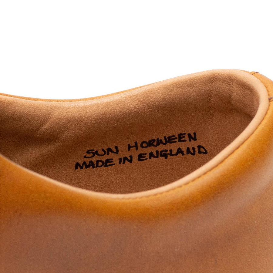 Overstone Derby - Horween Natural Chromexcel