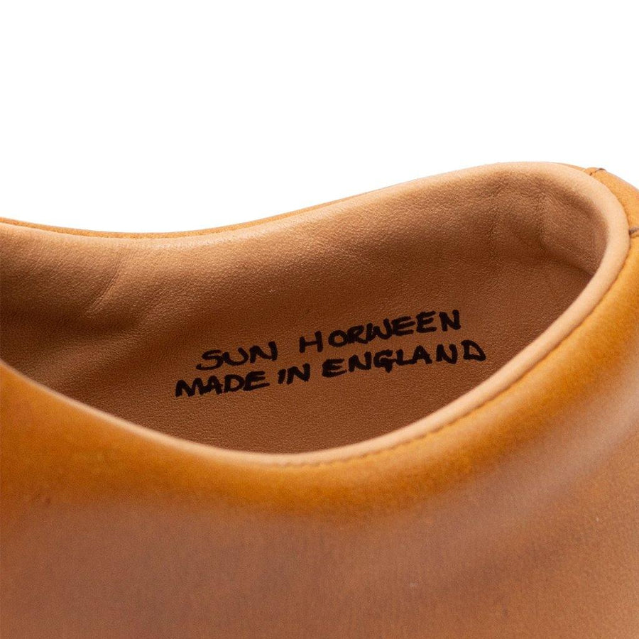 Abington Hi Toe Cap - Horween Natural Chromexcel