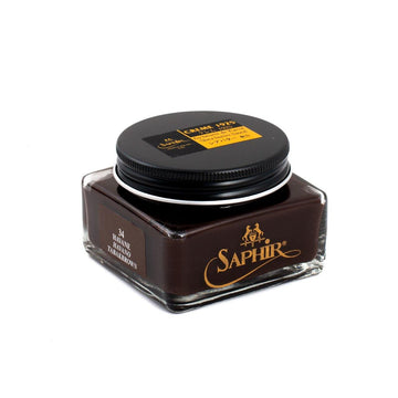 SAPHIR MEDAILLE D'OR CREME 1925 - TOBACCO BROWN LEATHER 34