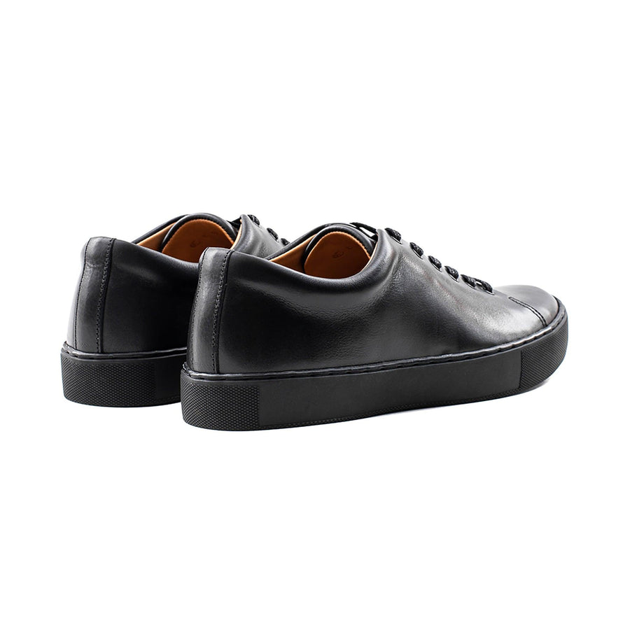 Overstone Derby - Black Calf Leather