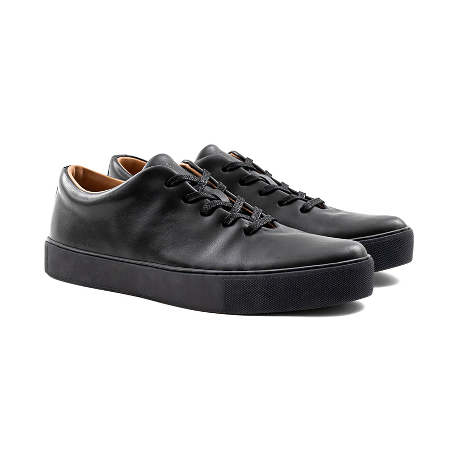 Upton Wholecut - Black Calf Leather
