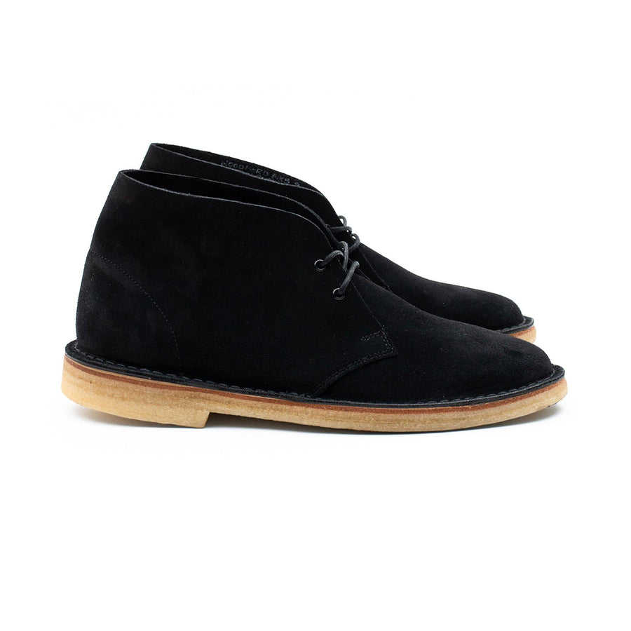 WOODFORD DESERT BOOT - BLACK KUDU SUEDE