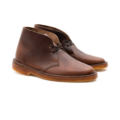 WOODFORD DESERT BOOT - HORWEEN BROWN CHROMEXCEL
