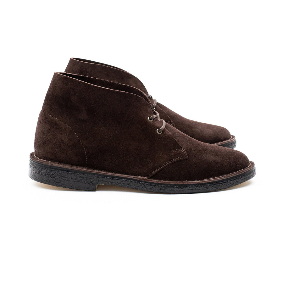 WOODFORD DESERT BOOT - BROWN KUDU SUEDE