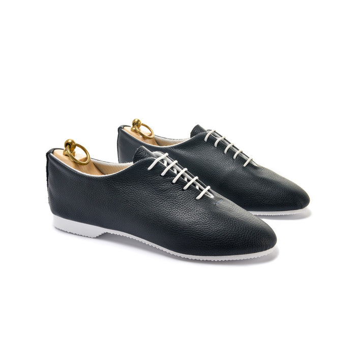 REGENT WHOLECUT SHOE - NAVY LEATHER