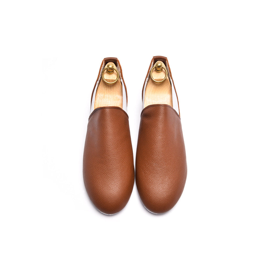 CONNAUGHT CHELSEA SHOE - BROWN LEATHER