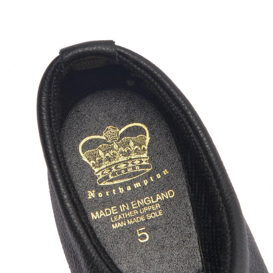 CONNAUGHT CHELSEA SHOE - BLACK LEATHER