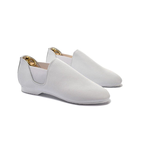 CONNAUGHT CHELSEA SHOE - WHITE LEATHER