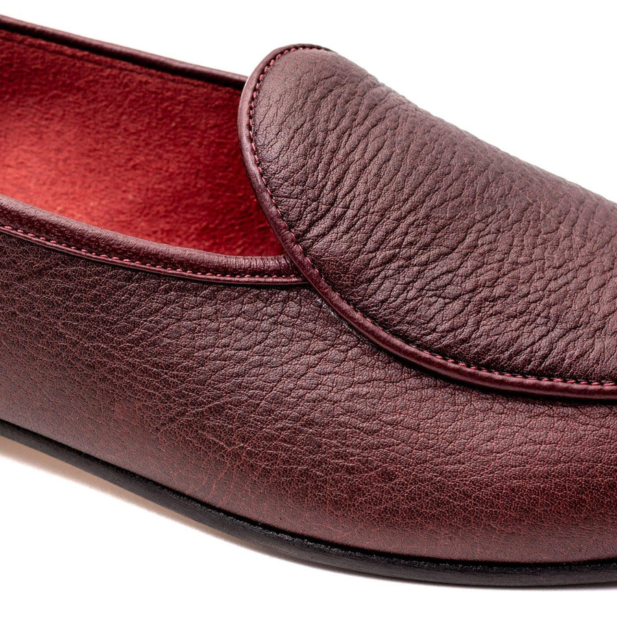 BROCKTON BELGIAN SLIPPER - SIGN KUDU LEATHER