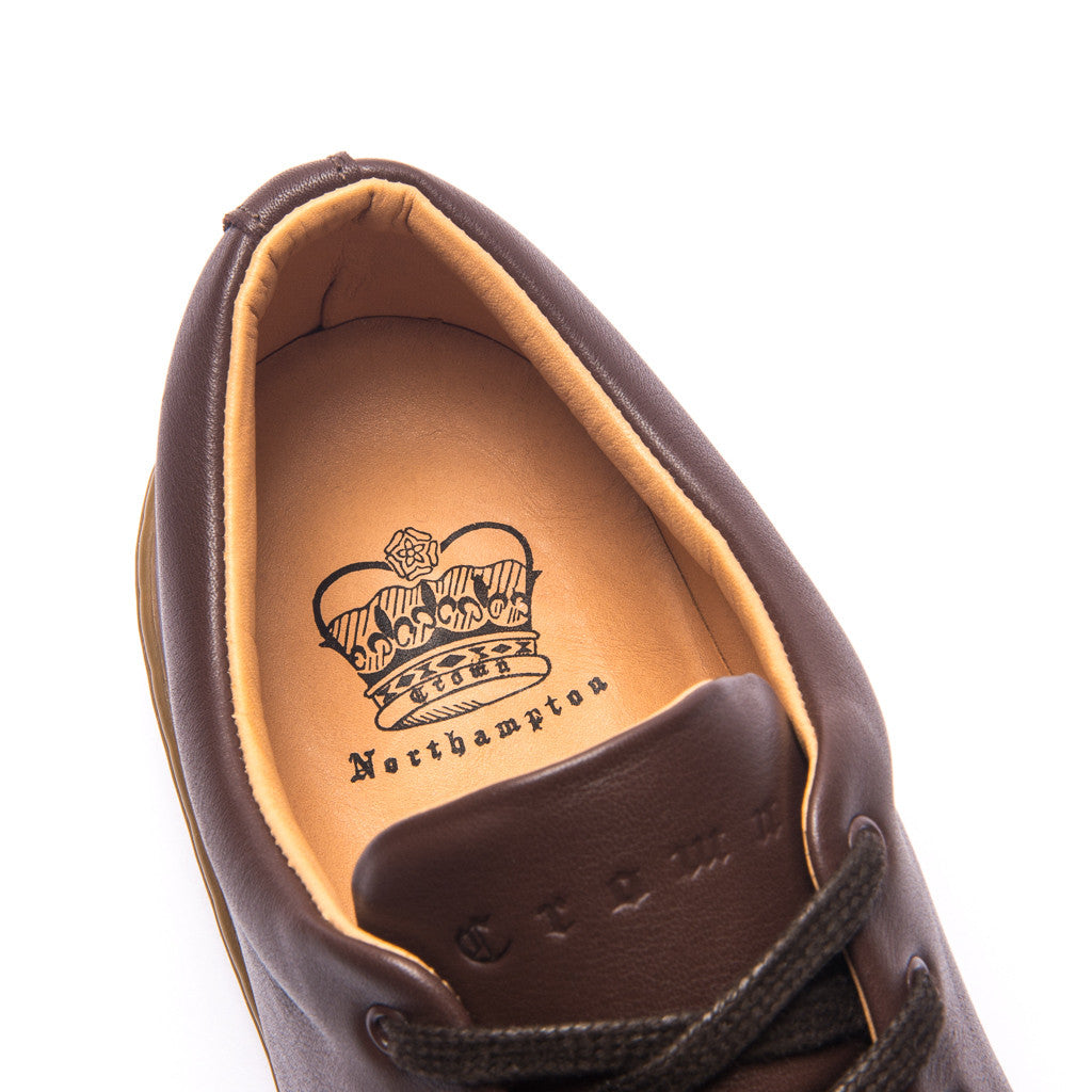 UPTON WHOLECUT SNEAKER - BROWN GUM