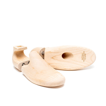 SNEAKER SHOE TREES - NATURAL BEECH WOOD