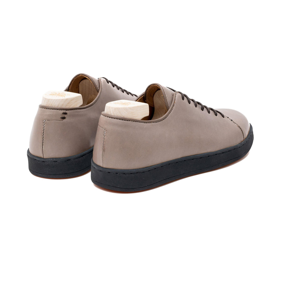 Harlestone Hand Stitch Derby - Grey Veg Tan Calf Leather