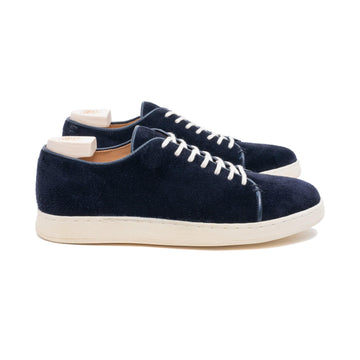 Harlestone Hand Stitch Derby - Navy Scottish Deer Suede