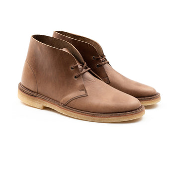 WOODFORD DESERT BOOT - HORWEEN NATURAL CHROMEXCEL