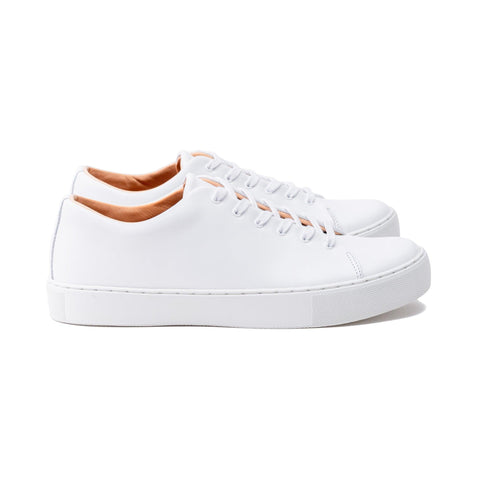 Overstone Derby - All White Calf Leather