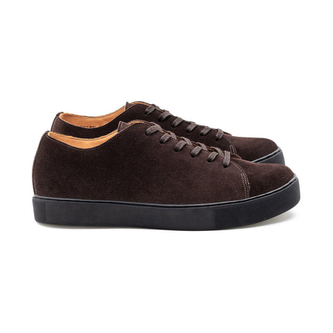 Overstone Derby TL - Brown Kudu Suede