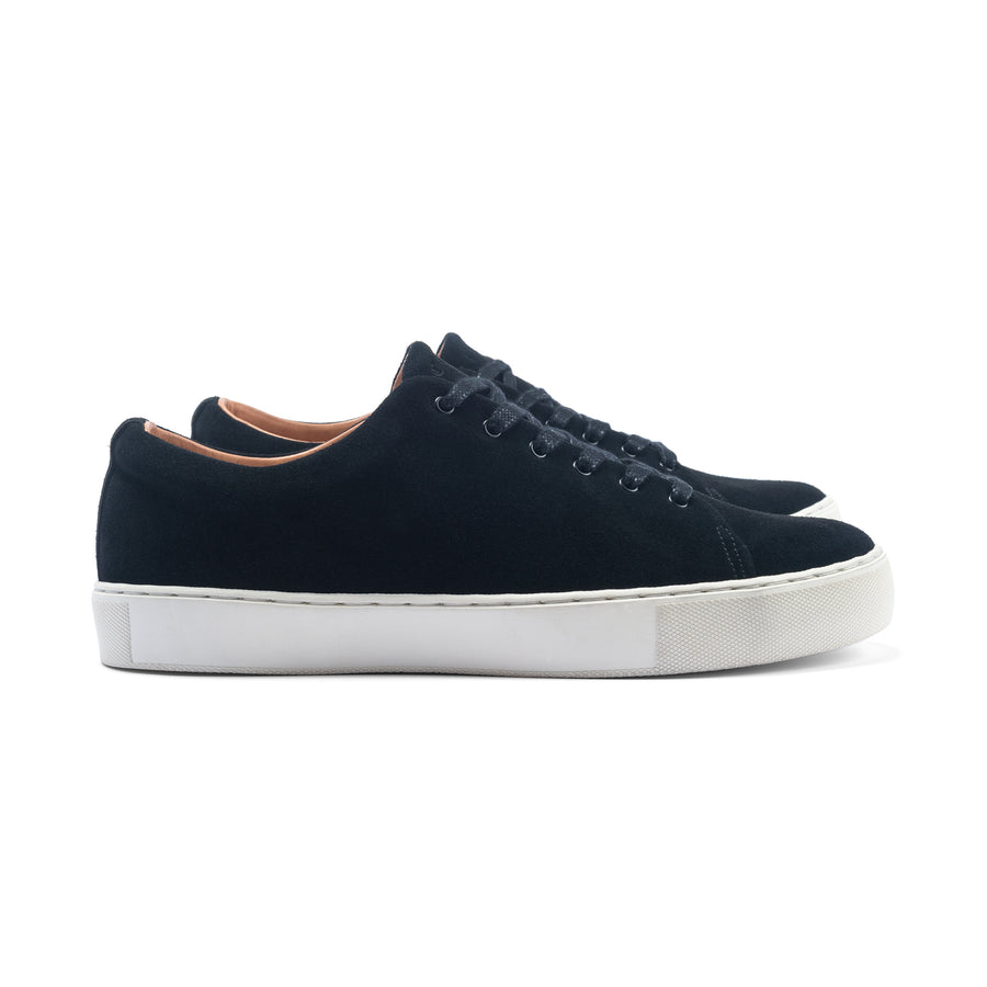 Overstone Derby - Black Calf Suede