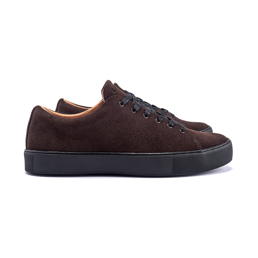 Overstone Derby - Brown Calf Suede
