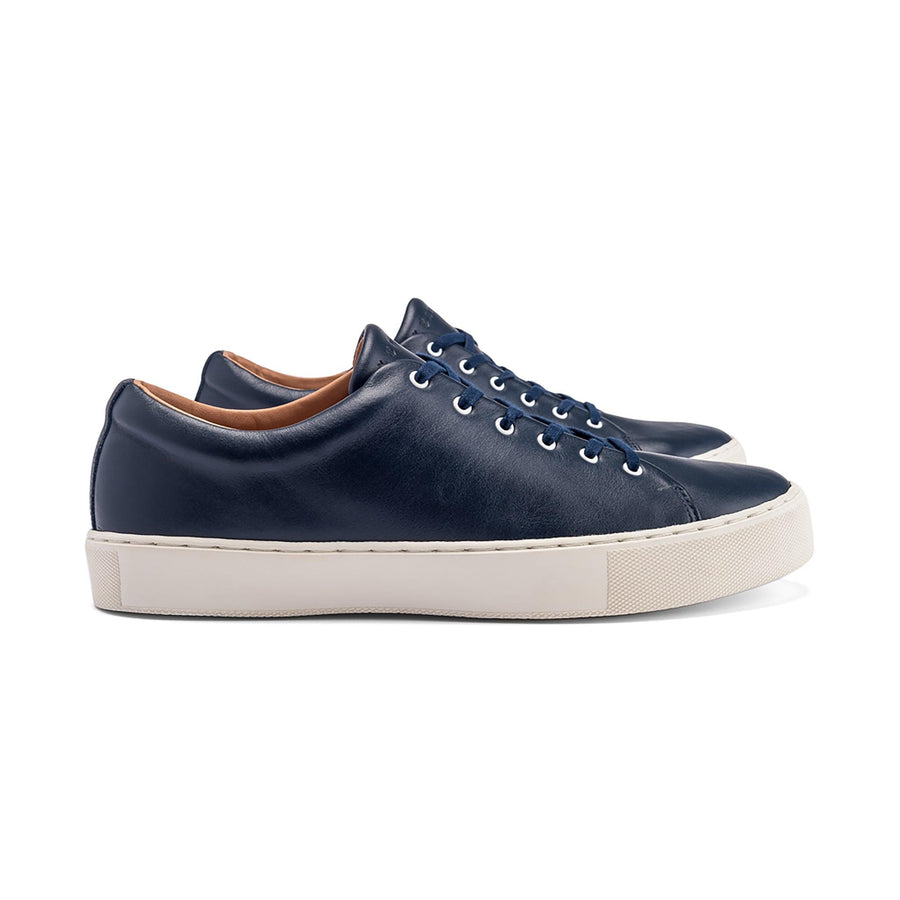 Overstone Derby - Navy Calf Leather