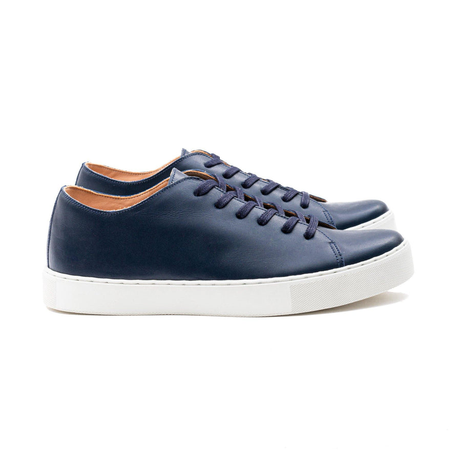Overstone Derby TL - Navy Calf Leather
