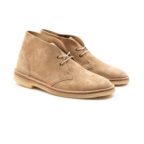 WOODFORD DESERT BOOT - SAND KUDU SUEDE