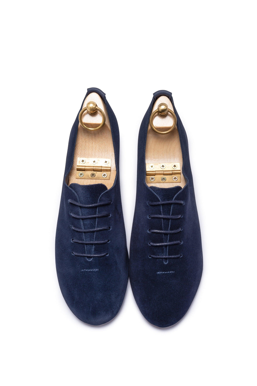 REGENT WHOLECUT SHOE - SOLE LINE - NAVY SUEDE