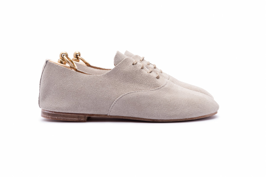 TALBOT OXFORD SHOE - SOLE LINE - SAND SUEDE
