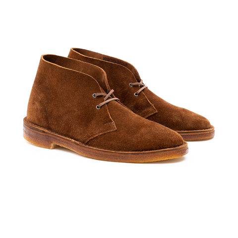 WOODFORD DESERT BOOT - SNUFF KUDU SUEDE