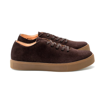 Upton Wholecut TL - Brown Kudu Suede