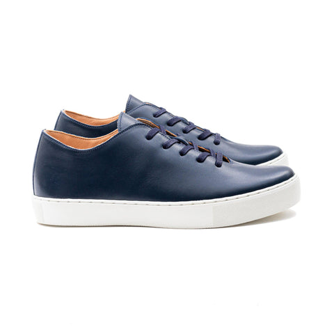 Upton Wholecut TL - Navy Calf Leather