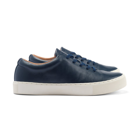 Upton Wholecut - Navy Calf Leather