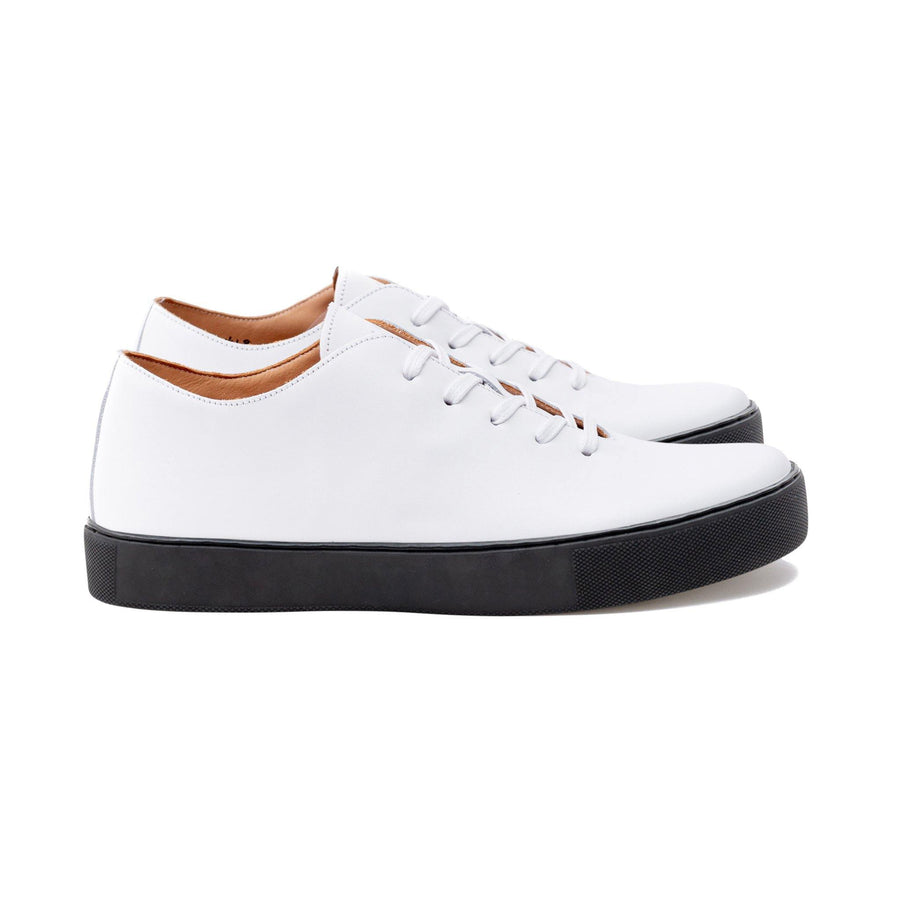 Upton Wholecut TL - All White Calf Leather