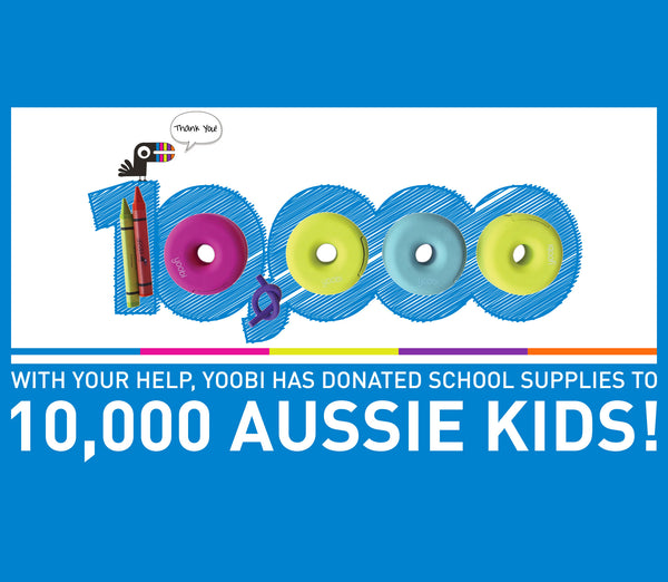 Yoobi Impacts the Lives of 10,000 Aussie Kids!