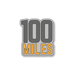 100 Miles - Gray/Yellow - 4