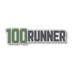 100 Runner - Gray/Green - 6