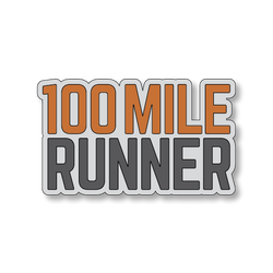 100 Mile Runner - Gray/Orange - 4