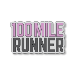 100 Mile Runner - Gray/Pink - 4
