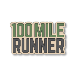100 Mile Runner - Sand/Green - 4