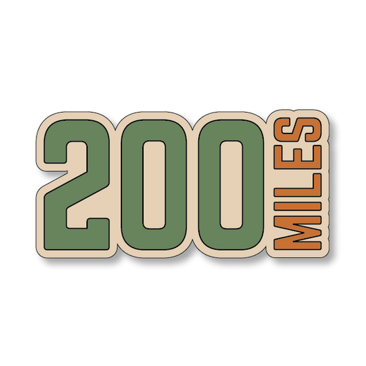 200 Miles - Sand/Green - 4.5