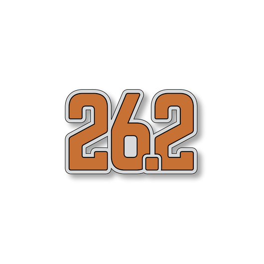 26.2 Marathon - Gray/Orange - 4