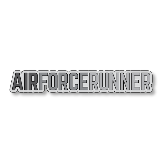Air Force Runner - Gray/Dark Gray - 7