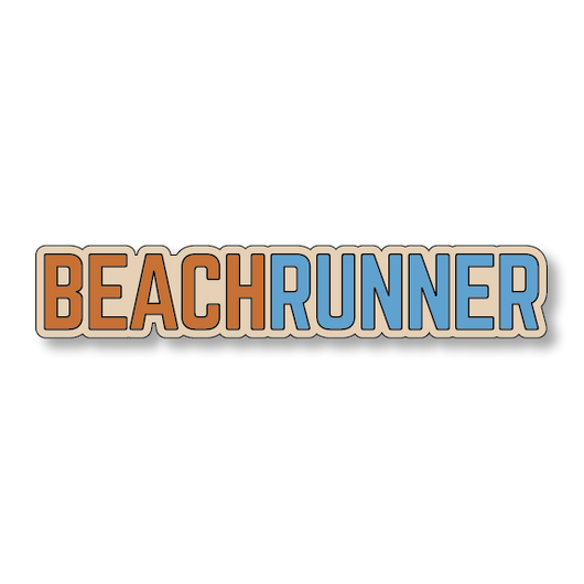 Beach Runner - Sand/Orange - 7